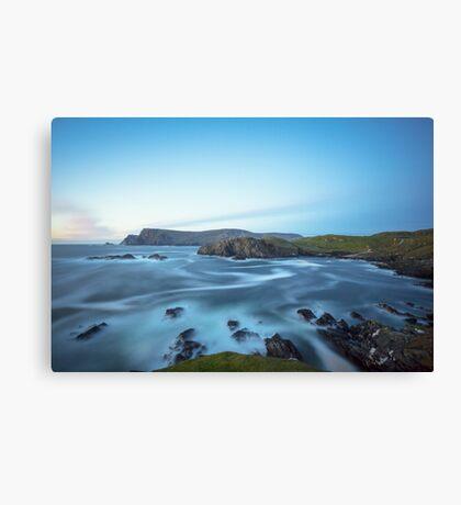 Glen Head, Glencolmcille Canvas Print