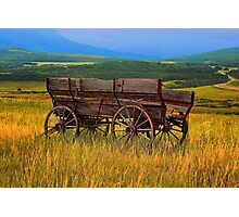 Wagon Ho! Photographic Print
