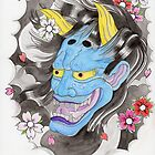 Blue Oni Flash by AAMurray