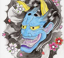 Blue Oni Flash by Alisha Murray