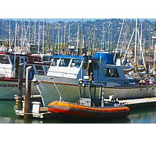 """Berkeley Marina"" Photographic Print"