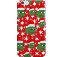 Pepe Christmas Case iPhone Case/Skin