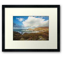 Port, Glencolmcille Framed Print