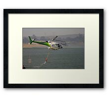 Fire Helicopters 'Black Sunday' Framed Print