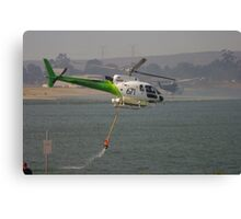 Fire Helicopters 'Black Sunday' Canvas Print