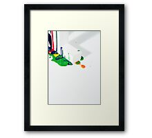 Creative Review - Paint Framed Print