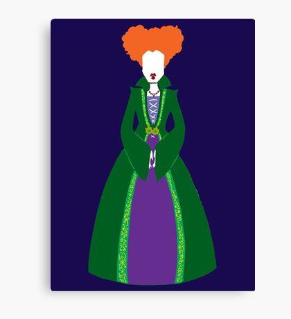 Winnie Sanderson Canvas Print
