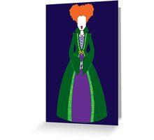Winnie Sanderson Greeting Card