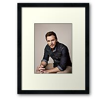 Chris Pratt Framed Print