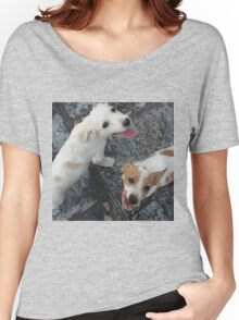 Happy Puppies Women's Relaxed Fit T-Shirt