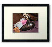 Fiehn Bass Ocarina  Framed Print