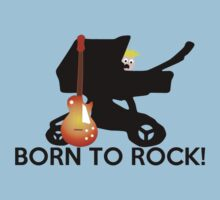 Born to ROCK!! Kids Tee