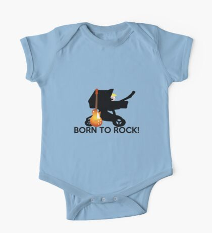 Born to ROCK!! One Piece - Short Sleeve