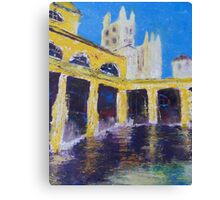 Cathedral from Bath Houses Canvas Print