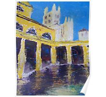 Cathedral from Bath Houses Poster