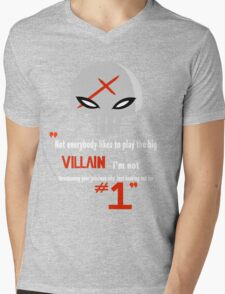 Red X  Mens V-Neck T-Shirt