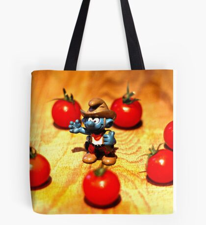 Suddenly the Cowboy was surrounded by Redskins Tote Bag