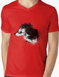 Wolf Link Artwork 2 Mens V-Neck T-Shirt