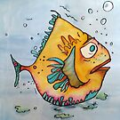 Big Charlie Fish by Vickie  Scarlett-Fisher