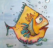 Big Charlie Fish by Vickie  Scarlett-Fisher