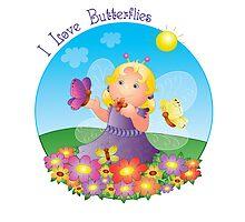 Butterfly Girl by DizziDaisy
