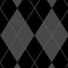 Black and Grey Argyle by HighDesign