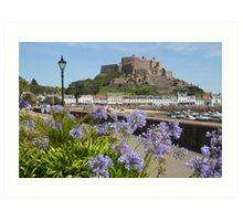 Gorey Castle Jersey Channel Islands Art Print