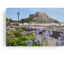 Gorey Castle Jersey Channel Islands Metal Print
