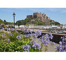 Gorey Castle Jersey Channel Islands Photographic Print