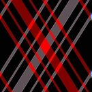 Black and Red Plaid by HighDesign