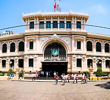 Saigon Post Office by Darren Taylor