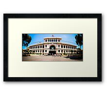 Saigon Post Office Framed Print