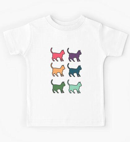 Techno Cat Kids Tee