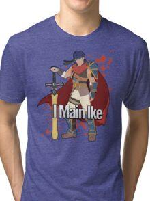 I Main Ike - Super Smash Bros. Tri-blend T-Shirt