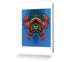 Digital Art - Underwater Greeting Card