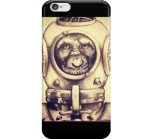 Scuba Chimp iPhone Case/Skin