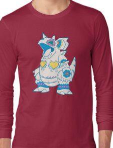 Nidoqueen Pokemuerto | Pokemon & Day of The Dead Mashup Long Sleeve T-Shirt