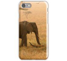 Elephants in the Dust iPhone Case/Skin