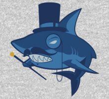 Nefarious Shark One Piece - Short Sleeve
