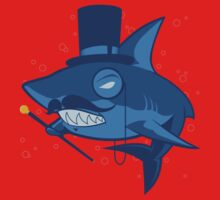 Nefarious Shark Kids Tee