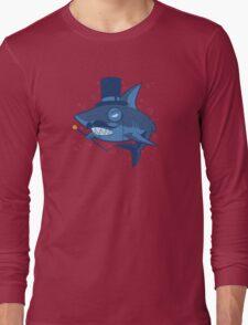 Nefarious Shark Long Sleeve T-Shirt