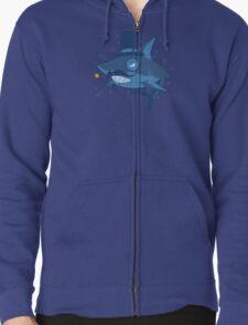 Nefarious Shark Zipped Hoodie