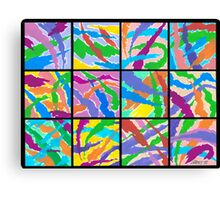 12 ABSTRACT MINIS Canvas Print