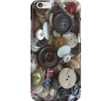 Button, Button, Who's Got the Button iPhone iPhone Case/Skin
