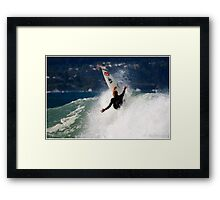 Slater @ The Jetty Framed Print