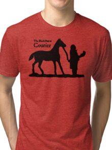 The Black Horse Courier TES: Oblivion Tri-blend T-Shirt