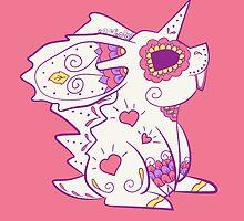 Nidoran Male Pokemuerto | Pokemon & Day of The Dead Mashup by abowersock