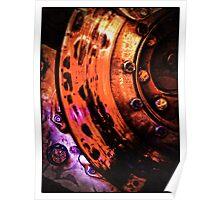 Brake Rotor Poster