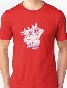 Nidorino Pokemuerto | Pokemon & Day of The Dead Mashup T-Shirt