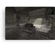 underground crypt Canvas Print